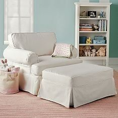example chair and a halfwith ottoman big comfy