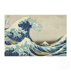 The Great Wave Canvas Canvas Print by vintage_gift_shop $163.00