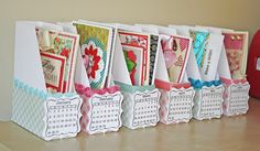 Great idea for organizing your cards!