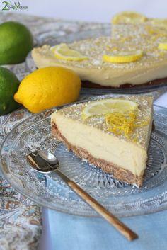 Vegan Lemon Pie Recipe: http://2brokevegans.com/vegan-lemon-pie/