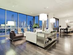 Spacious Luxury High-Rise Apartment near the new Perot Museum at2200 Victory Avenue #1302 in Uptown Dallas