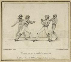 Humphreys and Mendoza, engraved by William Birch, published in 1792 by Anthony van Assen Mendoza, Birch, Van, Boxing, Vans, Vans Outfit