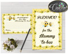 Shower Honey Bee Baby Shower Yellow Suggestion For Mummy Recommendation Mum ADVICE FOR MOMMY And Parents To Be, Party Décor - bee01 #babyshowergames #babyshower