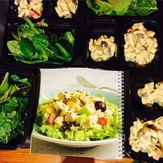 Boom! #fixate chicken salad made for the week at 9pm  better late than never and so easy!!! #livingthefitlife #livingthehealthylife #tiuapproved #happyandhealthy #FIXATE autumncalabrese cookbook, 21 day fix recipes, 21 day fix cookbook