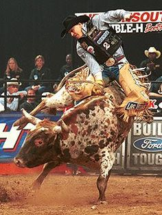 Motivate and Dominate: Rodeo Legend Ty Murray Rodeo Cowboys, Real Cowboys, Ty Murray, Bucking Bulls, Rodeo Events, Professional Bull Riders, Rodeo Time, Bull Riding, Cowboy And Cowgirl