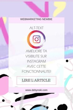 Améliore ta visibilité sur Instagram avec cette nouvelle fonctionnalité! Les textes alternatifs! Découvre comment en cliquant sur l'image! #blog #blogging #instagram #algorithm #webmarketing Community Manager, Image Blog, Buisness, Entrepreneur, Communication, Public, Digital, Tips, Seo