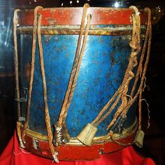 Old drum at the Firehouse Museum in Ille-sur-Têt,France.Photo by Kevin Ashton