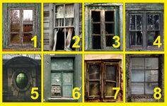 Válaszd ki a számodra legfélelmetesebb ablakot és megmondjuk, mi nyomja a lelkedet!