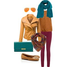 """Autumn Sunset"" by acrlewis on Polyvore"