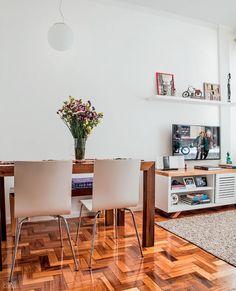 Uma nova entrada para mudar a cara do apartamento - Casa