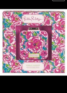 Lily Pulitzer mobile iphone /ipad charger