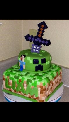 G wants this cake, minus Steve, with his name on it.