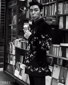 Ice cream TOP #T.O.P #ChoiSeungHyun [Vogue]