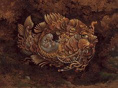 """""""Jonah"""" by James Christensen    """"Now the Lord had prepared a great fish to swallow up Jonah. And Jonah was in the belly of the fish three days and three nights.""""--Jonah 1:17"""