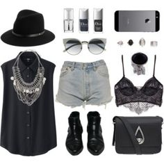 Black summer festival love