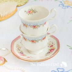 Lovely PAIR of mix and match of sweet bridal by TheButteredCat