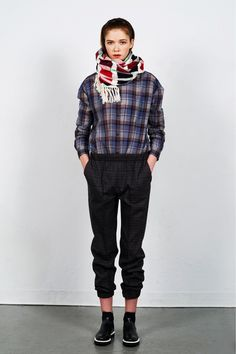Organic by John Patric Pre fall 2013...plaid