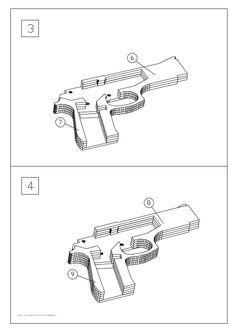M9 rubber band gun 1 pinterest rubber band gun m9 rubber band gun mais malvernweather Image collections