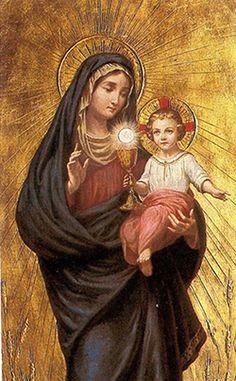 Znalezione obrazy dla zapytania matka boża pocieszycielka strapionych