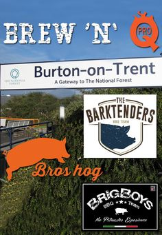 Auguri ai team italiani che gareggeranno alla Brew 'n' Q di Burton on Trent (Inghilterra) questo weekend!