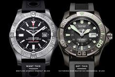 Breitling Avenger Seawolf or Victorinox Dive Master 500 Mechanical