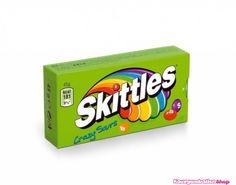Skittles Crazy sours, lekker zure fruitige snoepjes.