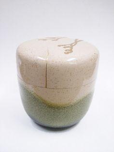 蒔絵棗の画像:小石原さんの金継ぎ 繕いのうつわ