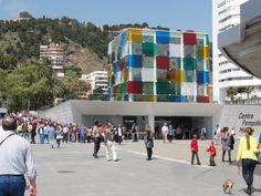 Centre #Pompidou en Malaga, España