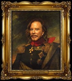 Russian Generals Bruce Willis Art Pinterest Bruce Willis - If celebrities were 19th century military generals they would look like this