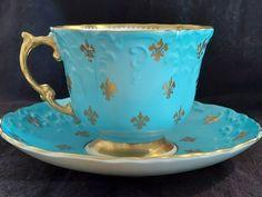 Tea Cup Set, Tea Cup Saucer, Tea Sets, Antique Tea Cups, Vintage Teacups, English Tea Cups, Coffee Cup Design, Bone China Tea Cups, Antique China