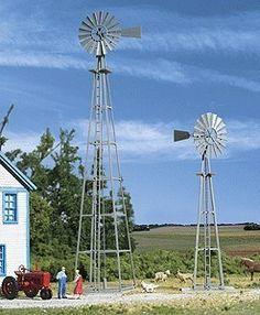 Walthers HO 933-3198 Van Dyke Farm Windmill Kit