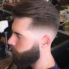 20 Hottest Short Sides Long Top Haircuts - Men's Hairstyles Mens Haircuts Quiff, Haircuts For Men, Haircut Men, Men's Haircuts, Short Sides Long Top, Medium Hair Styles, Short Hair Styles, Types Of Fade Haircut, Medium Fade