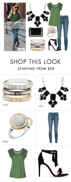 """Style Street"" by parklanejewelry on Polyvore featuring Frame Denim, TESSA, Alexandre Birman and Tomasini"