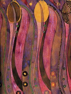 Art Nouveau textile design of 'stylized tulips' by Charles Rennie Mackintosh. Charles Rennie Mackintosh, Design Art Nouveau, Art Design, Textile Patterns, Textile Art, Mackintosh Design, Glasgow School Of Art, Glasgow Girls, Ludwig Mies Van Der Rohe
