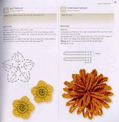 crochet flowerdiagram