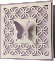 Silhouette Design Store - View Design #75738: 5x5 butterfly card
