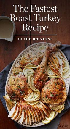 The Fastest Roast Turkey Recipe in the Universe via @PureWow