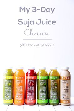 My 3-Day Suja Juice Cleanse | if I ever have the money :(