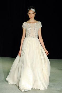 #anne-barge, #fall-2014  Dress: Anne Barge - annebarge.com