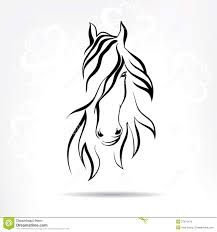 Image result for horse head tattoo
