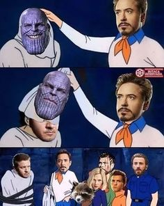 Guess who really thanos is....