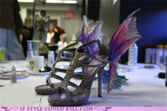 Pretty Shoes designed by Victoria's Secret via If Style Could Kill