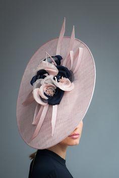Sinamay Hats, Millinery Hats, Fascinator Hats, Fascinators, Headpieces, Black Fascinator, Wedding Hats, Free Wedding, Wedding Blog