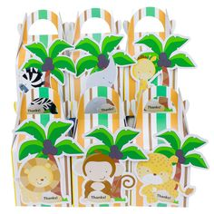 12PCS Baby Shower Favors Safari Animal Wild Favor Box Candy Box Souvenir Boy/Girl Kids Event & Party Supplies-in Gift Bags & Wrapping Supplies from Home & Garden on Aliexpress.com | Alibaba Group