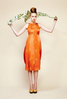 Orange is a delightful color.