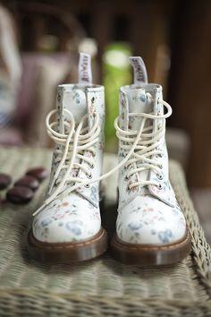 Floral Boots #shoes