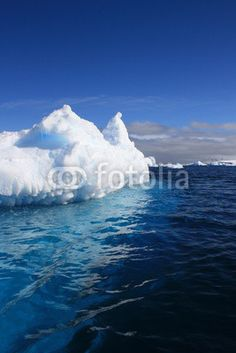 Antarctic iceberg - Buy this stock photo and explore similar images at Adobe Stock Antarctica, Global Warming, Ecology, Freeze, Wilderness, Frost, Reflection, Landscapes, Environment