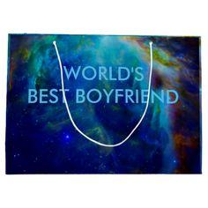 World's best boyfriend gift bags Orion Nebula