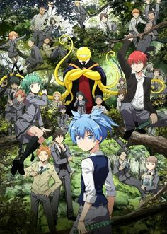 ANSATSU KYOUSHITSU/ASSASSINATION CLASSROOM, Anime, Korosensei, Student class 3-E Middle School Kunugigaoka