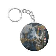 Stop Rhino Poachers Wildlife Conservation Art Keychain Sumatran Rhino, Rhinoceros, Manx Cat, Cat Keychain, Wildlife Conservation, Photo Gifts, Design, Art, Art Background